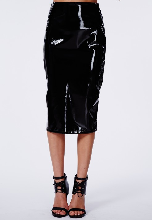 Take over the lethal sheen look in this pvc skater midi. Simple and easy to make any outfit stand out. Simply team with a crop top, layers of jewellery and shoe private-dev.tk: $
