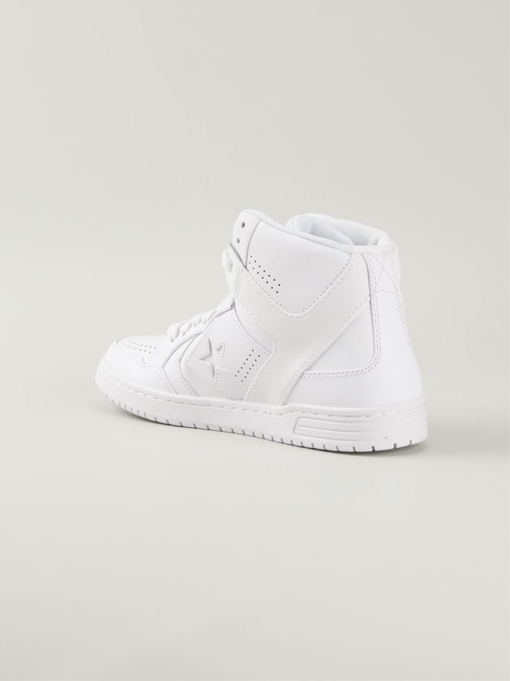 ff985058f51 Lyst - Converse  Weapon  Hi-Top Sneakers in White for Men