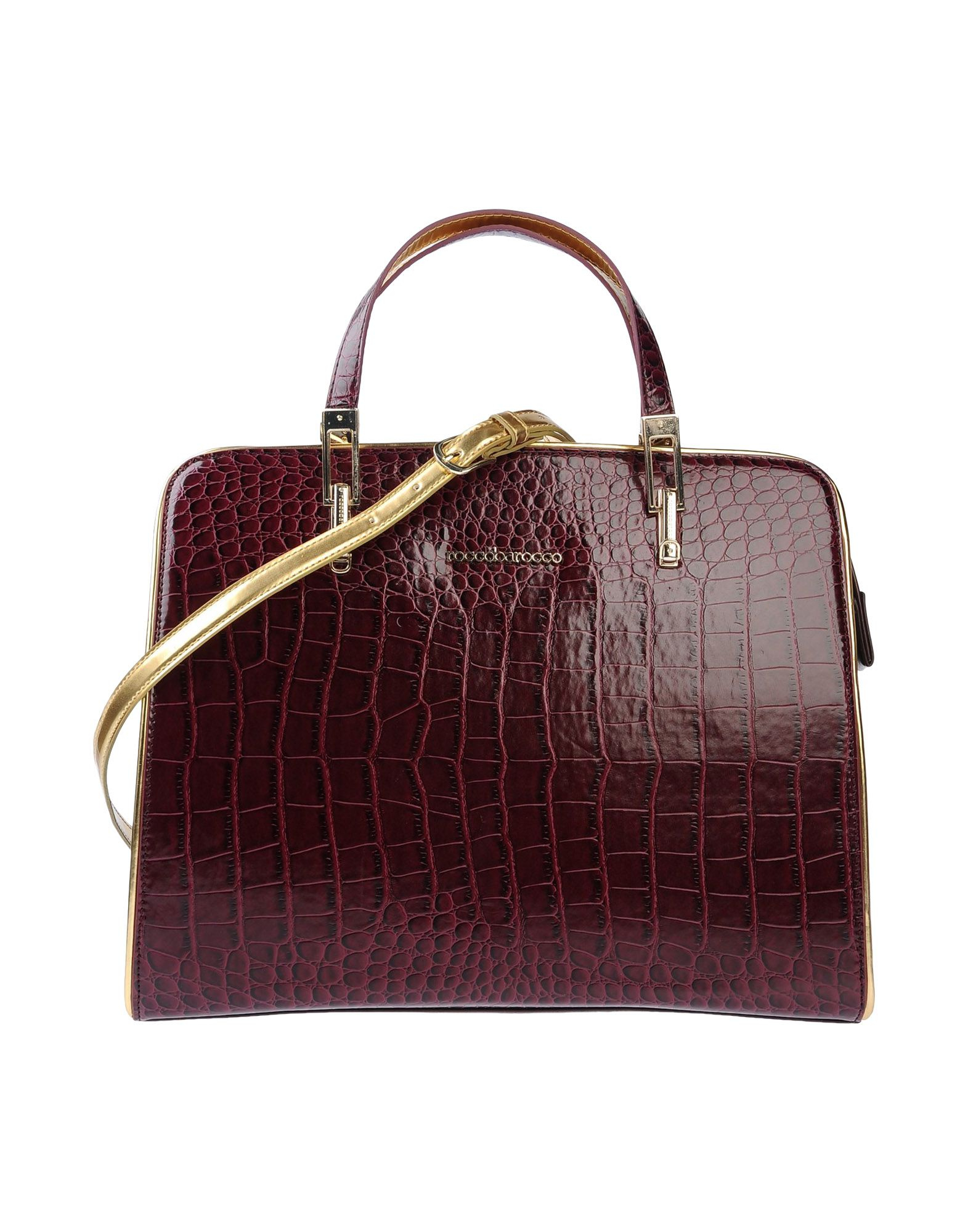 Roccobarocco Handbag in Purple (Garnet)