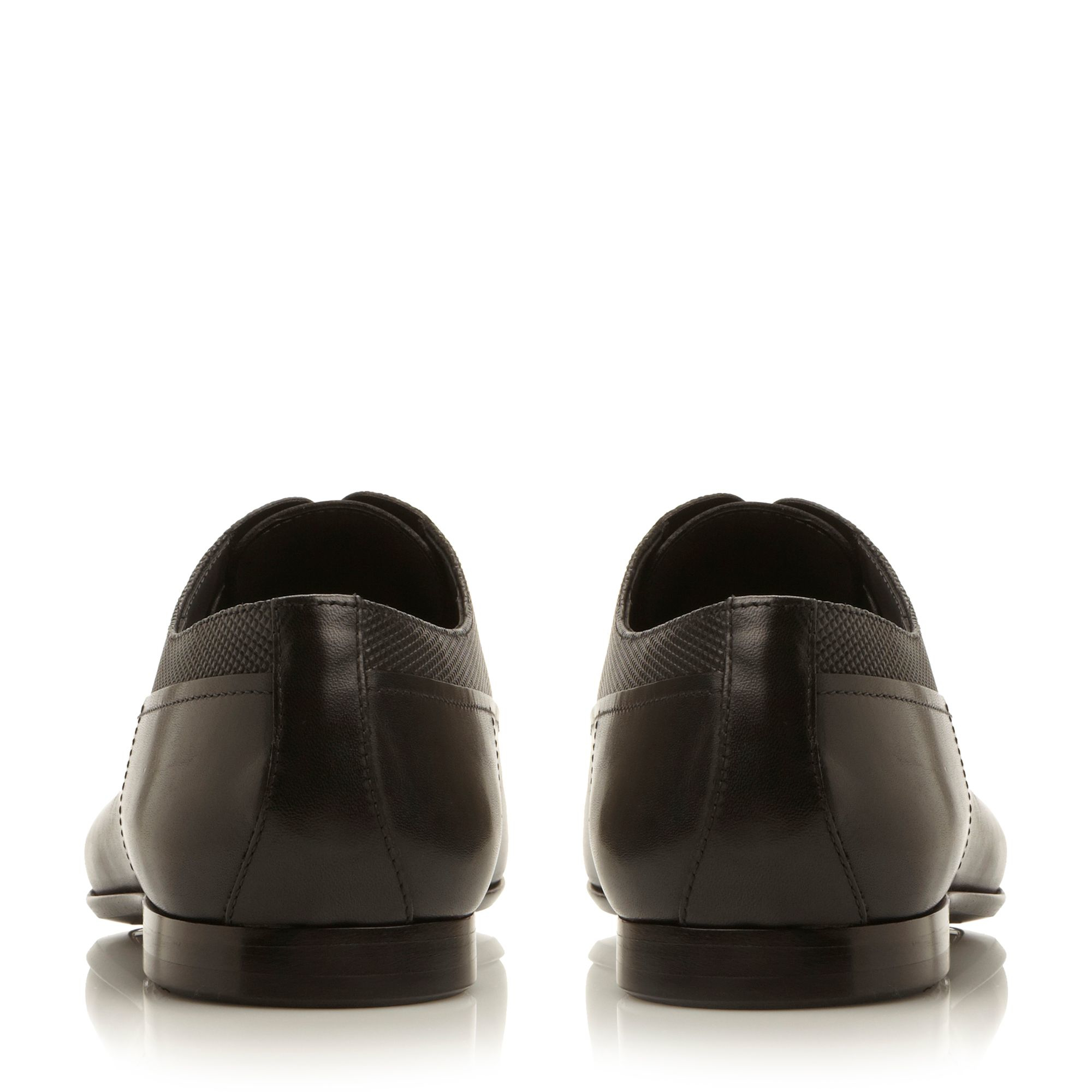 Hugo Boss Vintio Printed Leather Oxford Shoes