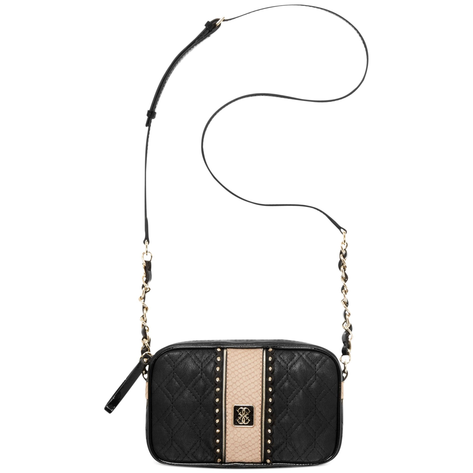 Guess Miss Social Petite Crossbody Camera Bag In Black | Lyst