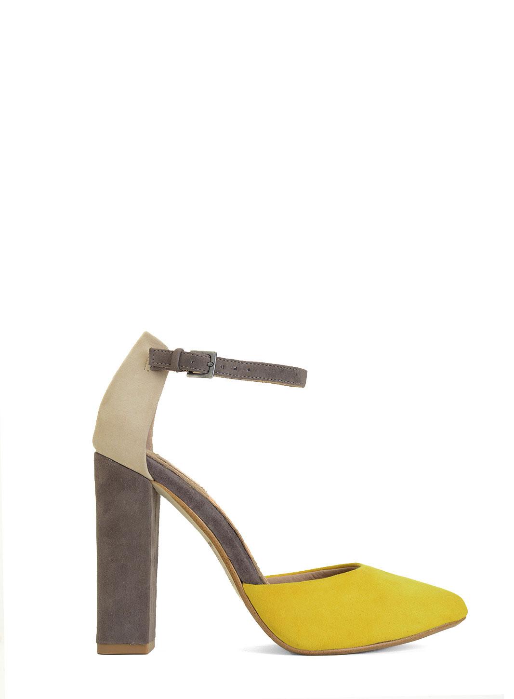 Yellow Mustard Heels