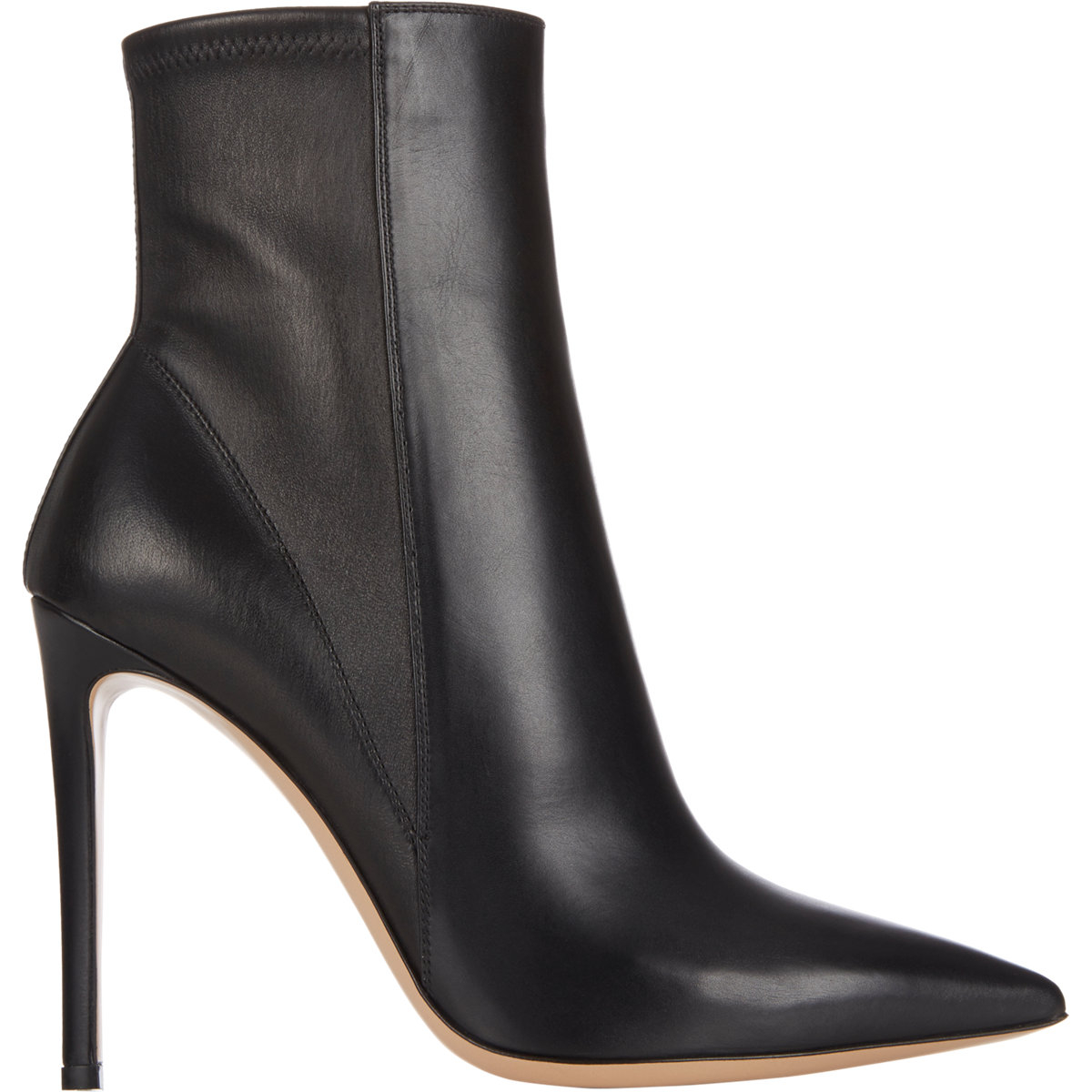 Sergio Rossi Stretch Leather Ankle Boots free shipping pay with paypal in China 2015 new cheap price with paypal cheap online free shipping 2015 zAWEgVgu