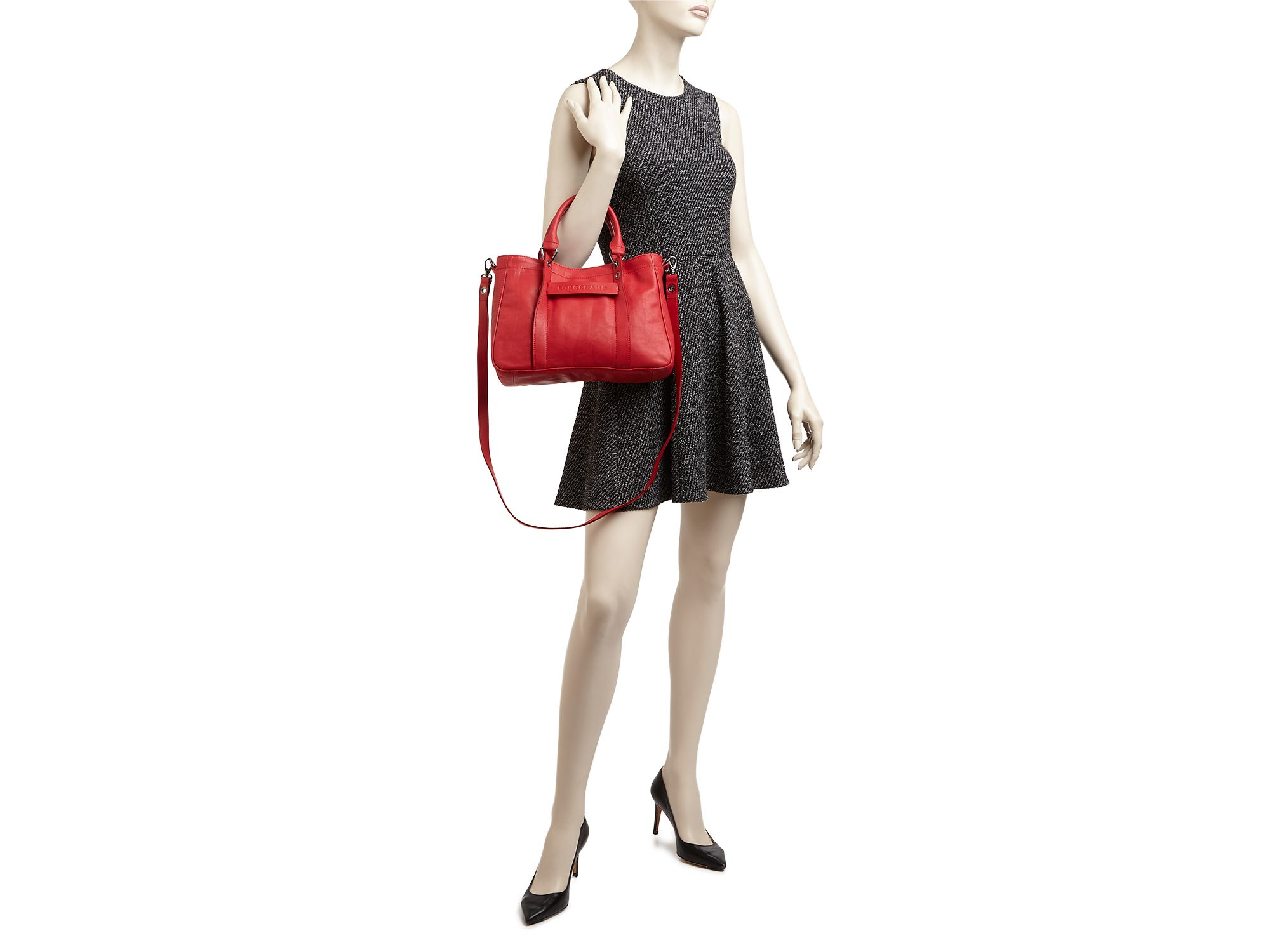 Lyst Longchamp 3d Small Tote In Red