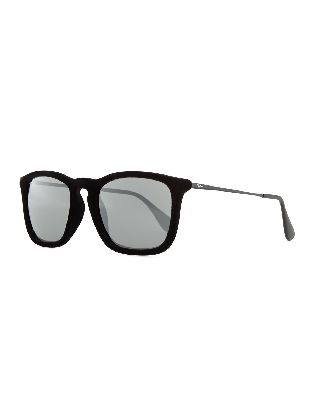 ray ban velvet round keyhole sunglasses  gallery
