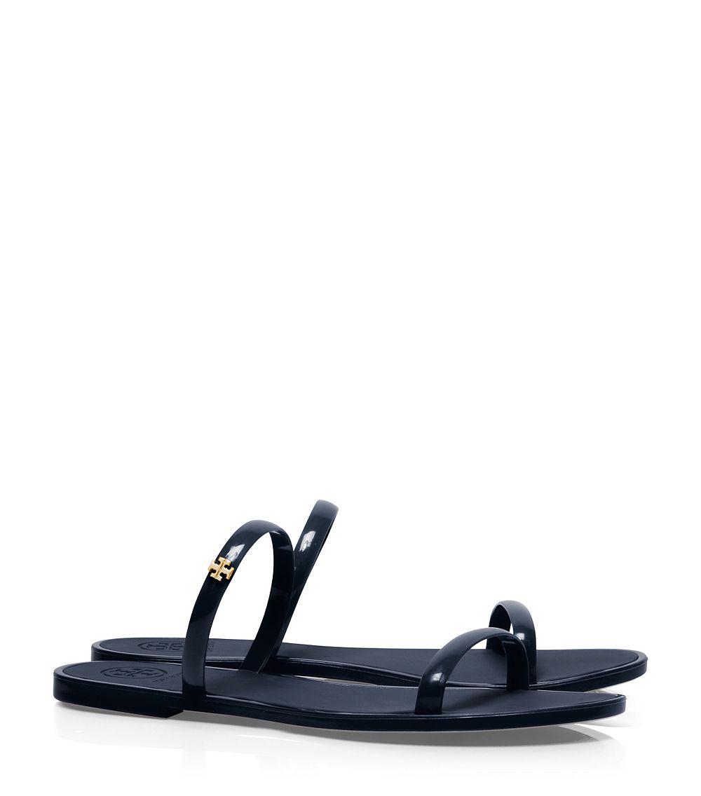 6866270d6c3b Lyst - Tory Burch Two-band Jelly Slide in Blue