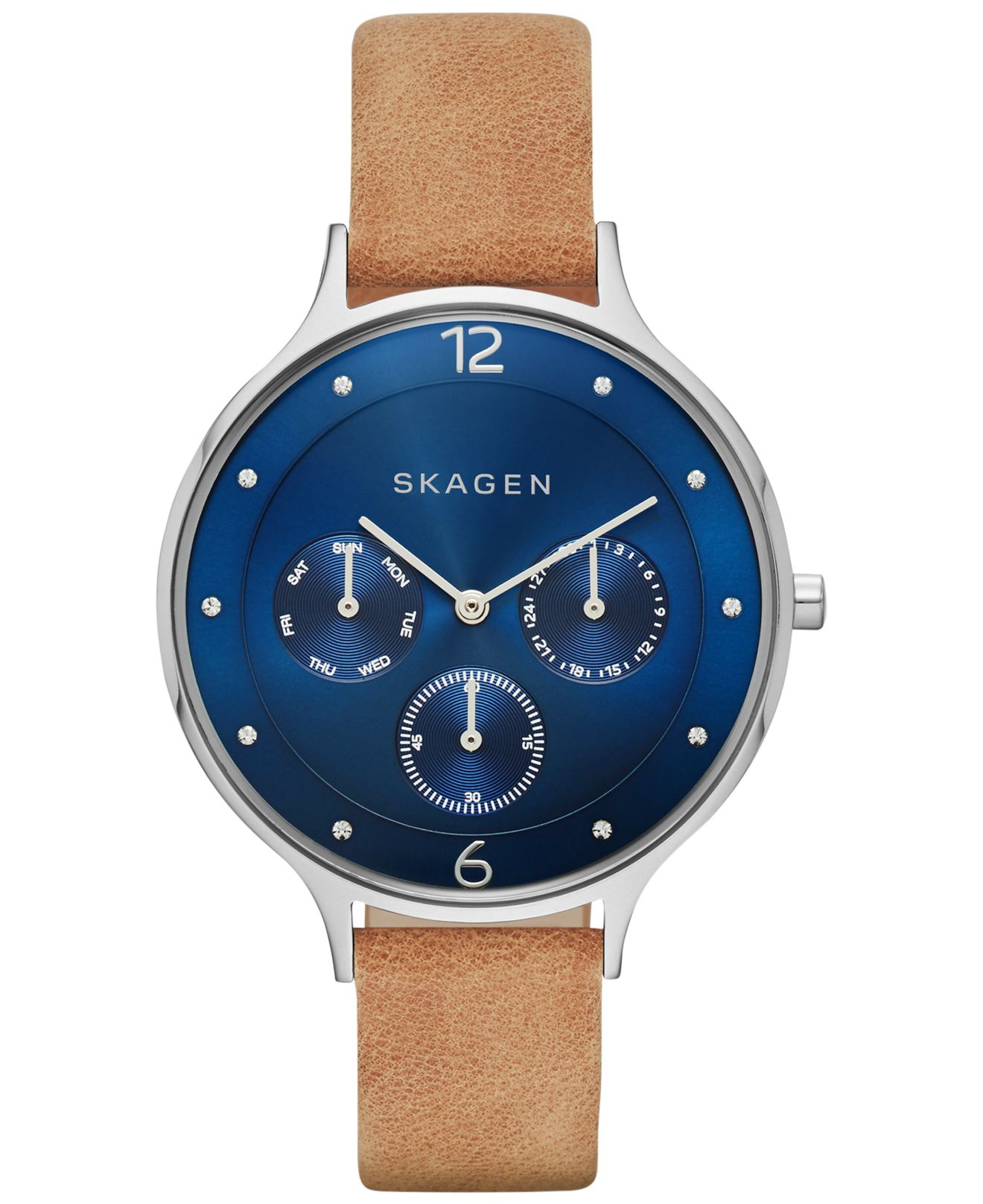 Free shipping and returns on Women's Skagen Leather Watches at unicornioretrasado.tk