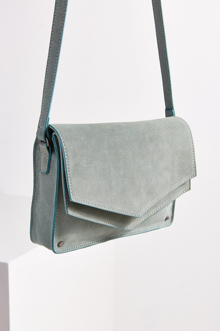 Double Flap Crossbody Bag
