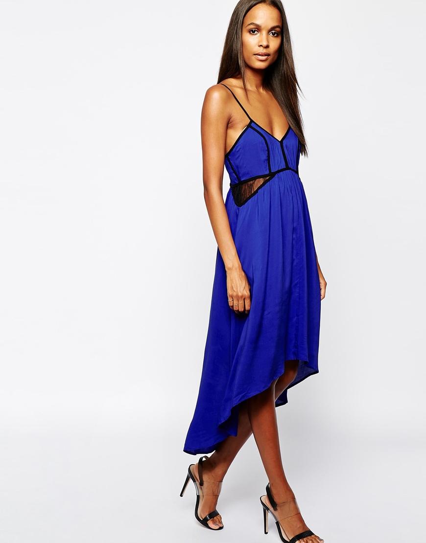 Aryn k black dress model