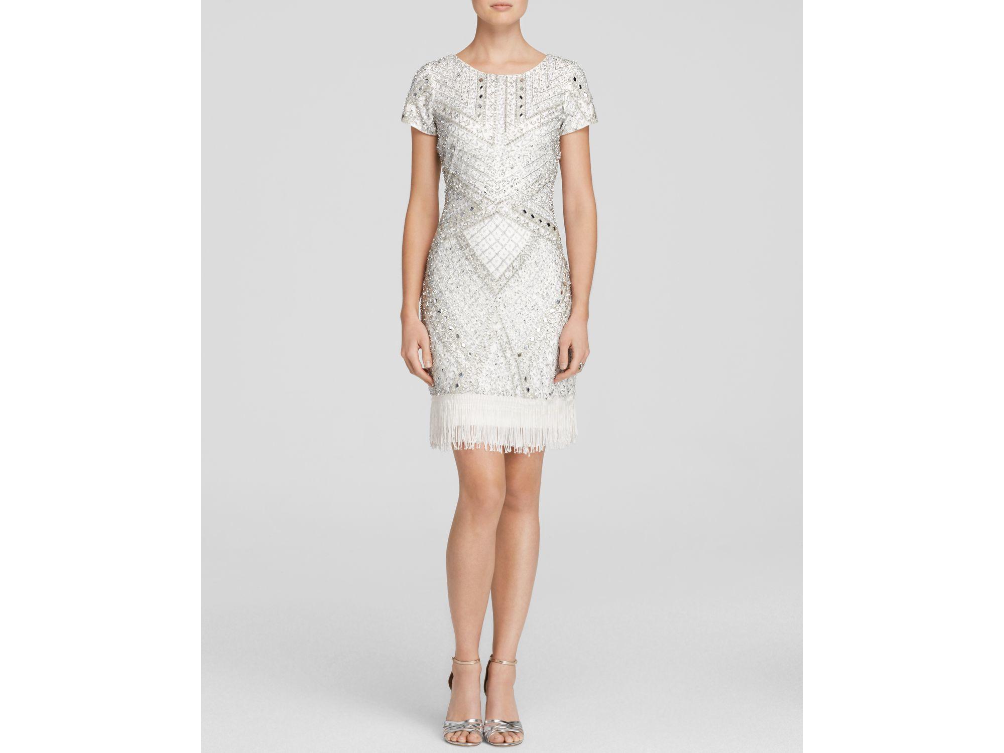 Aidan Mattox Ivory Dress – fashion dresses