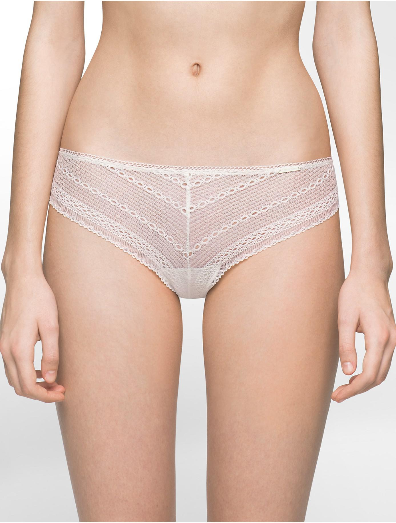 d3b1d10a7c Lyst - Calvin Klein Underwear Ombre Thong in White
