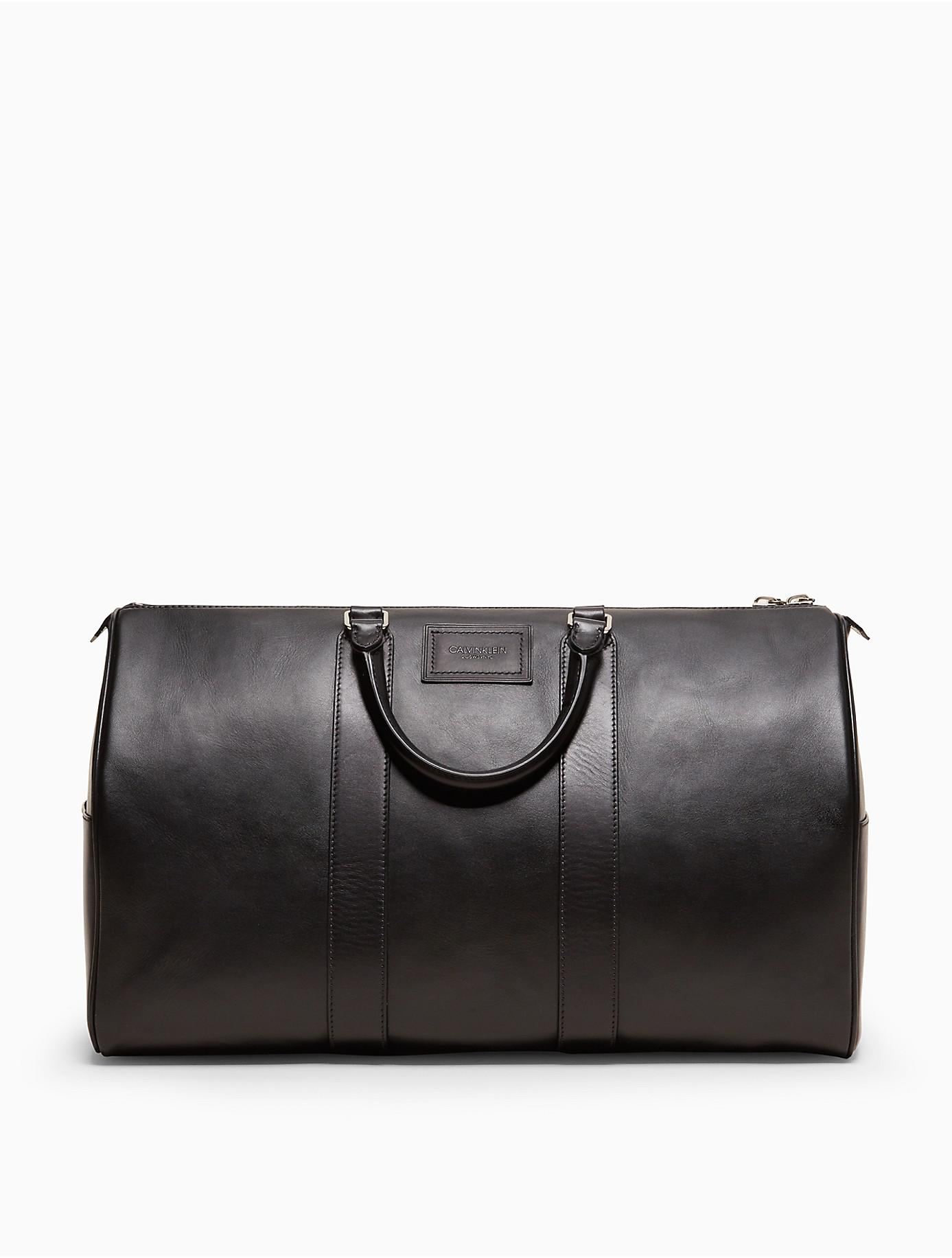 6394724f8d25 Lyst - Calvin Klein 205W39Nyc Luxe Calf Duffle in Black for Men
