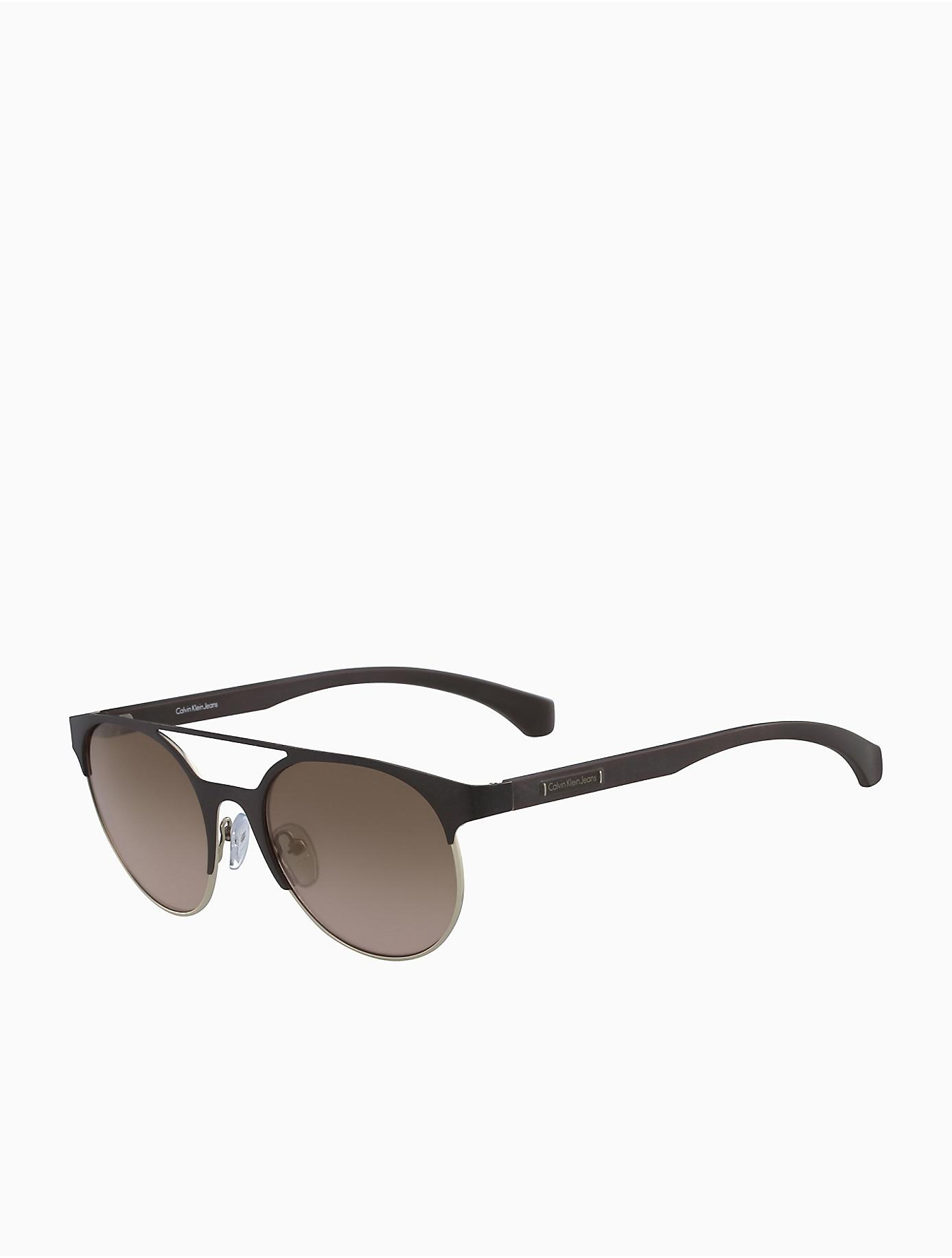 Calvin Klein 205W39nyc round shaped sunglasses Cheap Footlocker Pictures Clearance Online Fake D4l0A