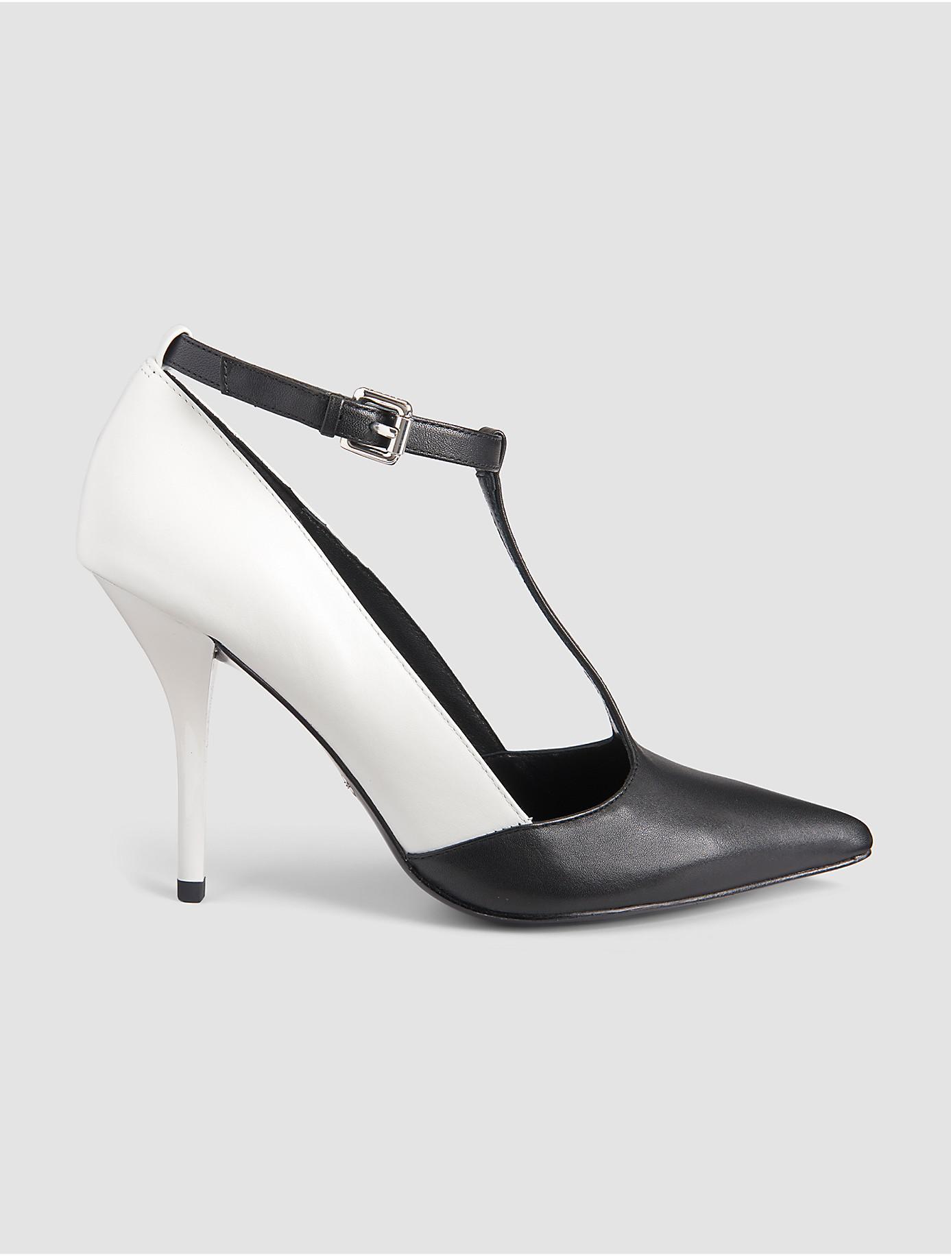 Calvin Klein 205W39NYC White Studded Heels LVsIGjYqa1