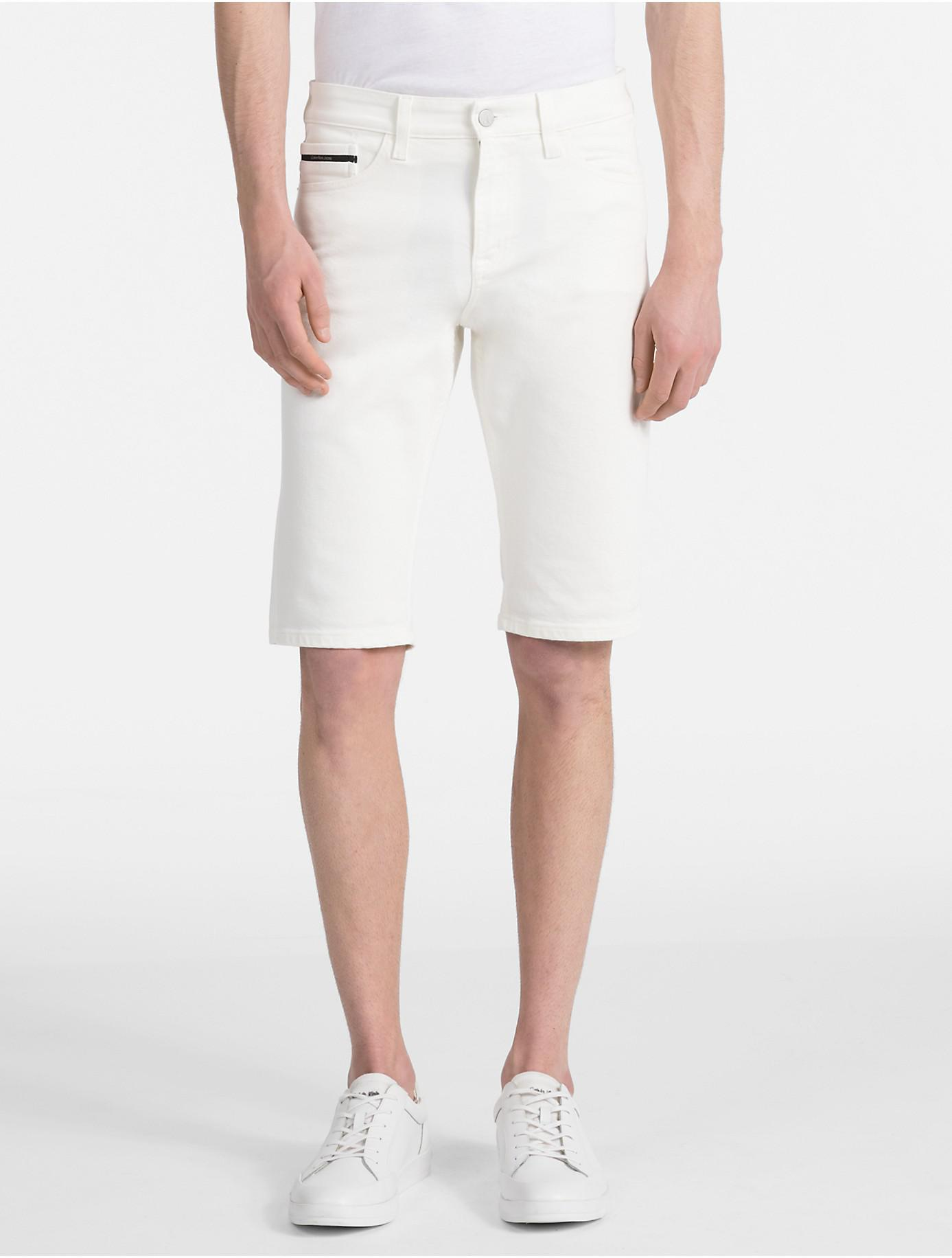 Slim Denim Shorts Calvin Klein Sale Fast Delivery With Paypal Free Shipping Where Can You Find Cheap Comfortable xaK1xRot