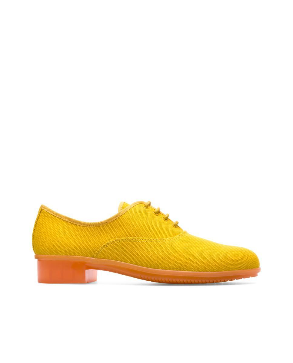 Camping Chaussures De Jazz Casi - Jaune Et Orange fiA30Aqq