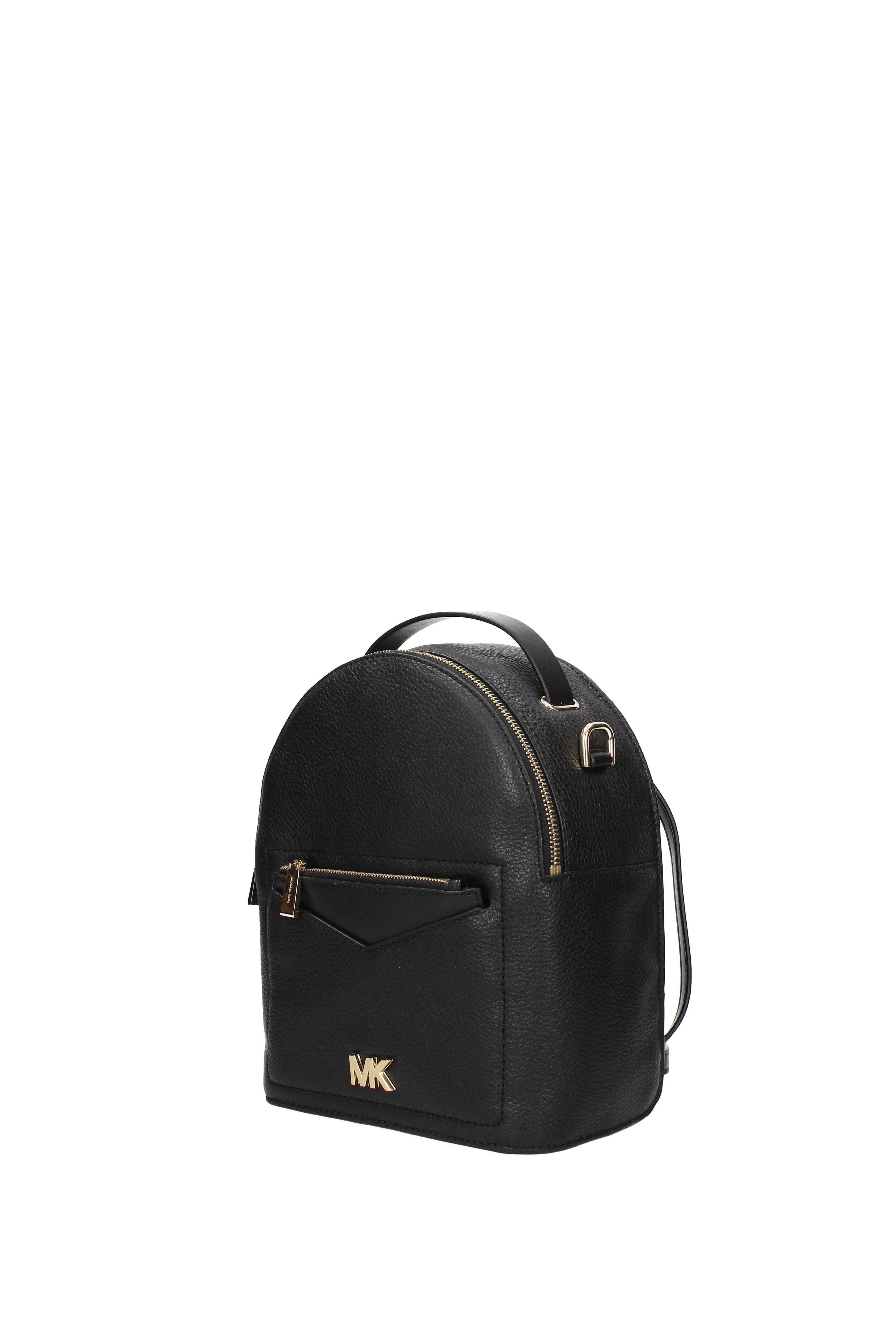 d326d62b174a Michael Kors - Backpacks And Bumbags Jessa Women Black - Lyst. View  fullscreen