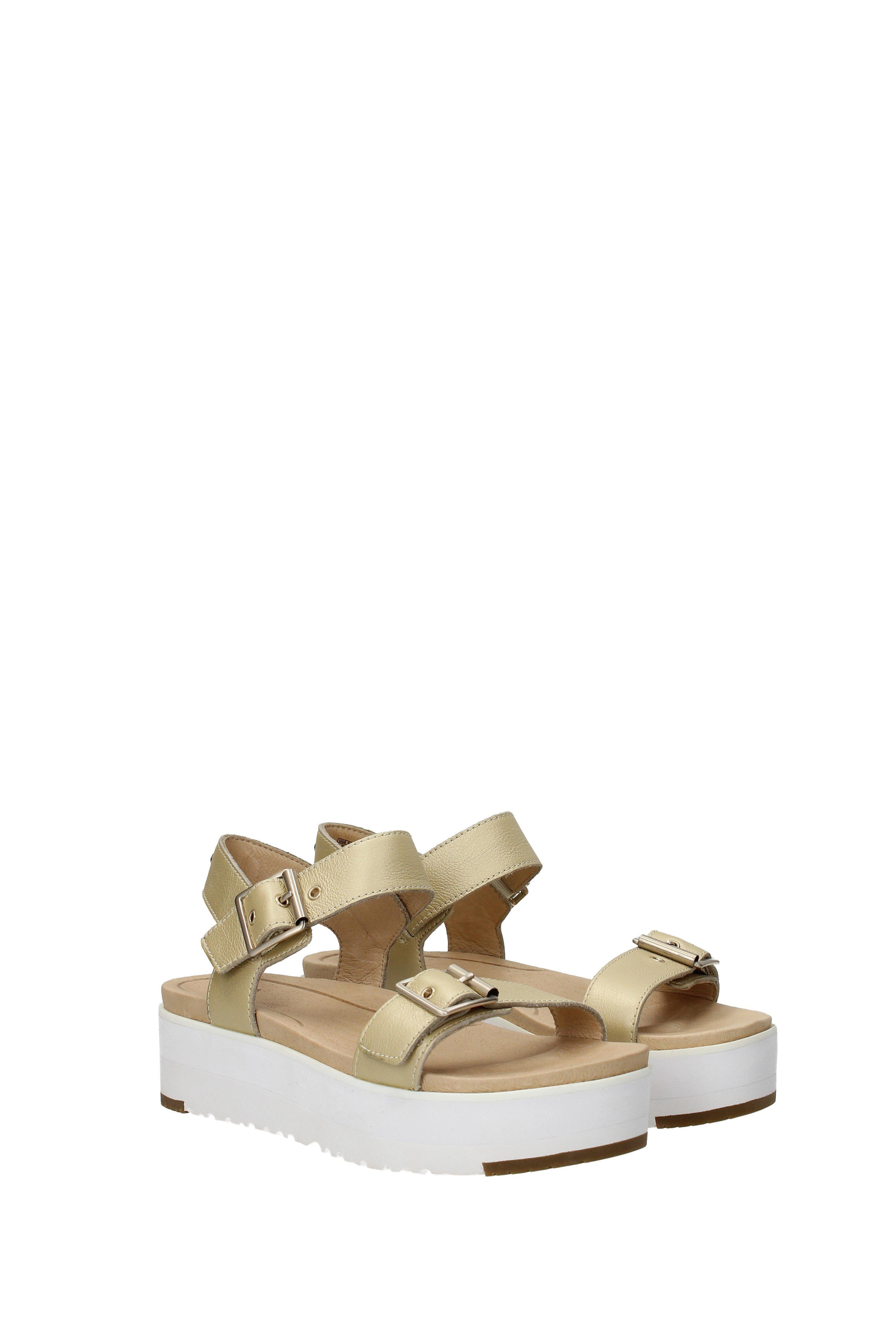 d1a81da90b8 Metallic Sandals Angie Women Gold