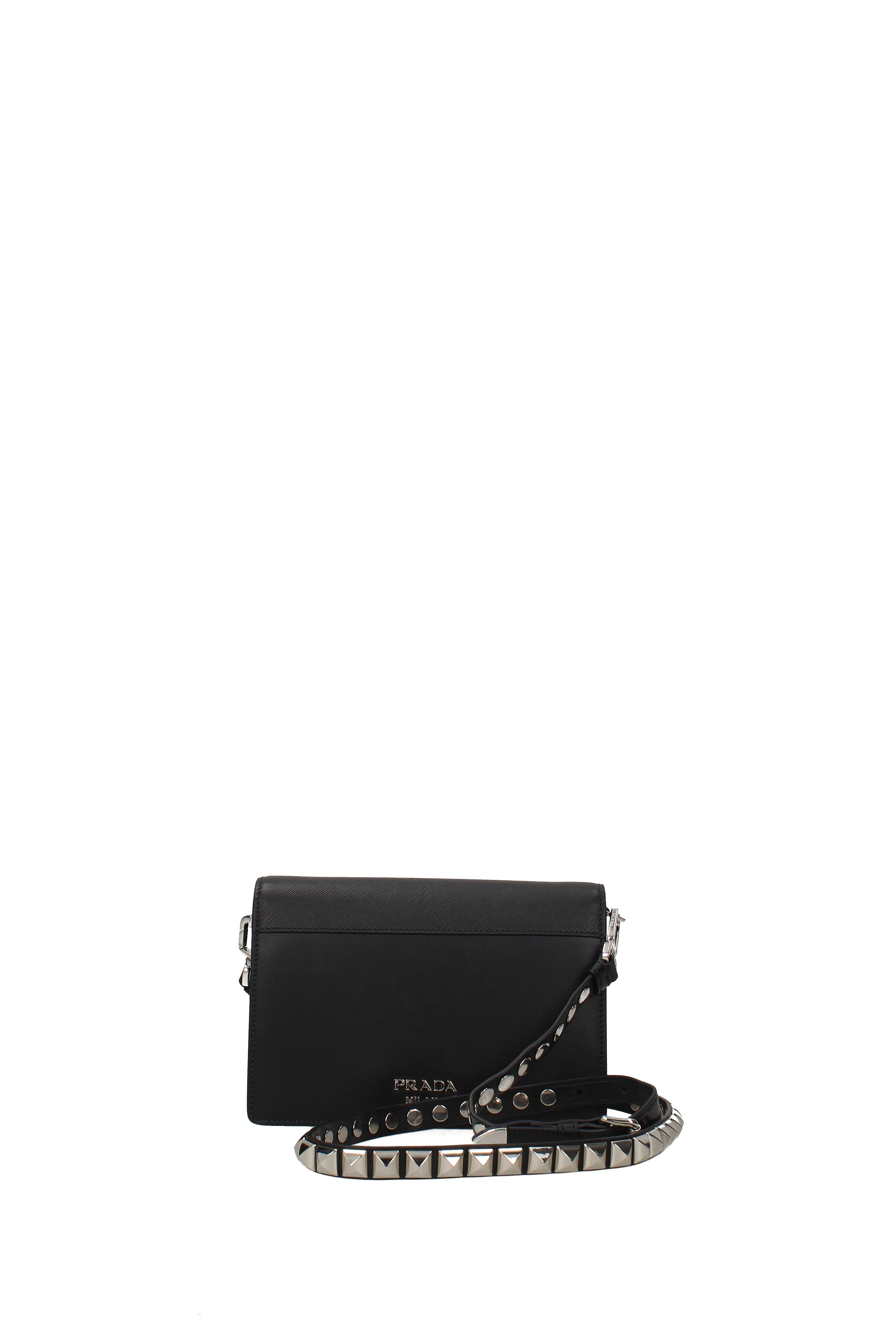 496f32afc53e Prada - Crossbody Bag Women Black - Lyst. View fullscreen