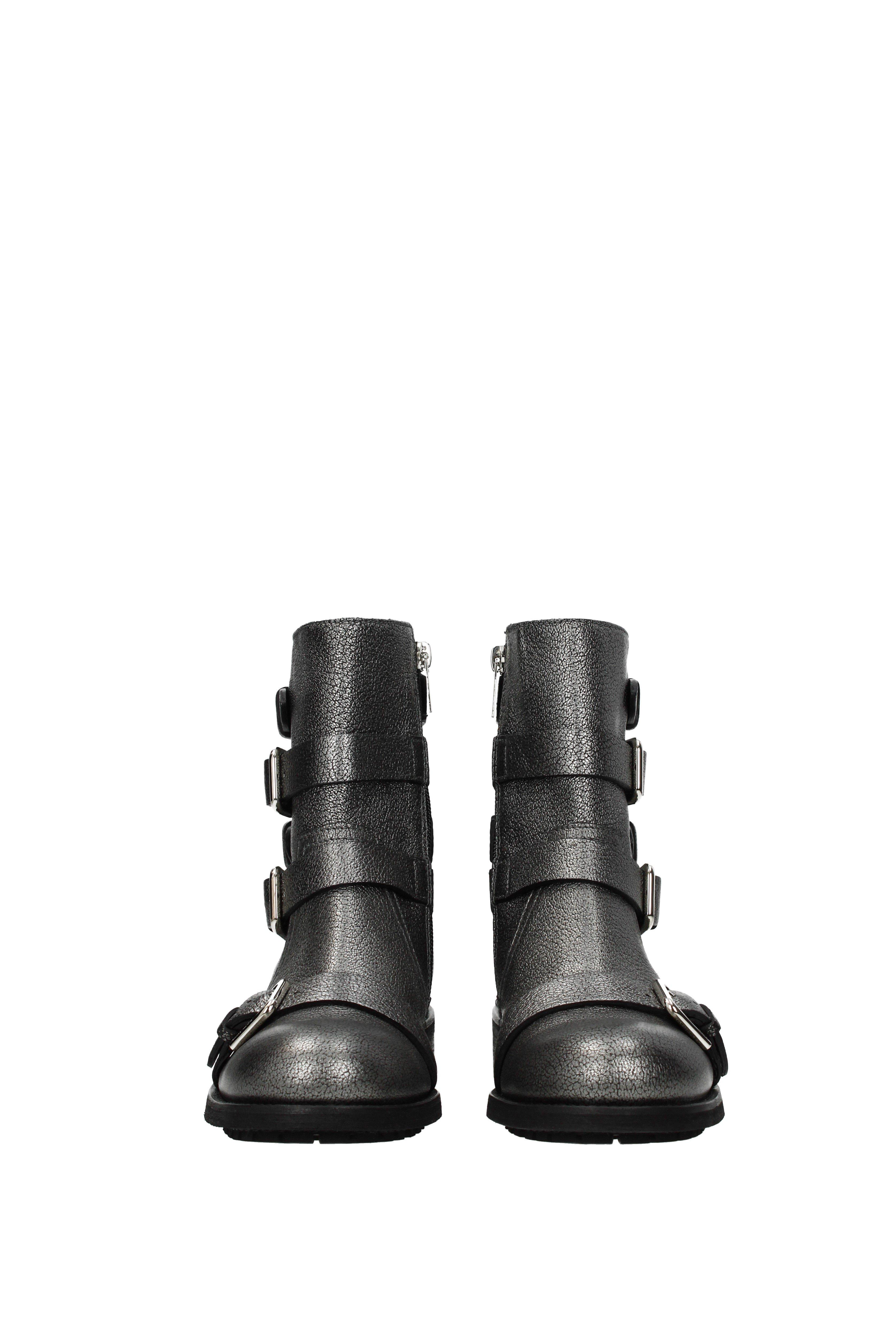 d2b4e290b4 Jimmy Choo - Black Ankle Boots Dawson Women Gray - Lyst. View fullscreen
