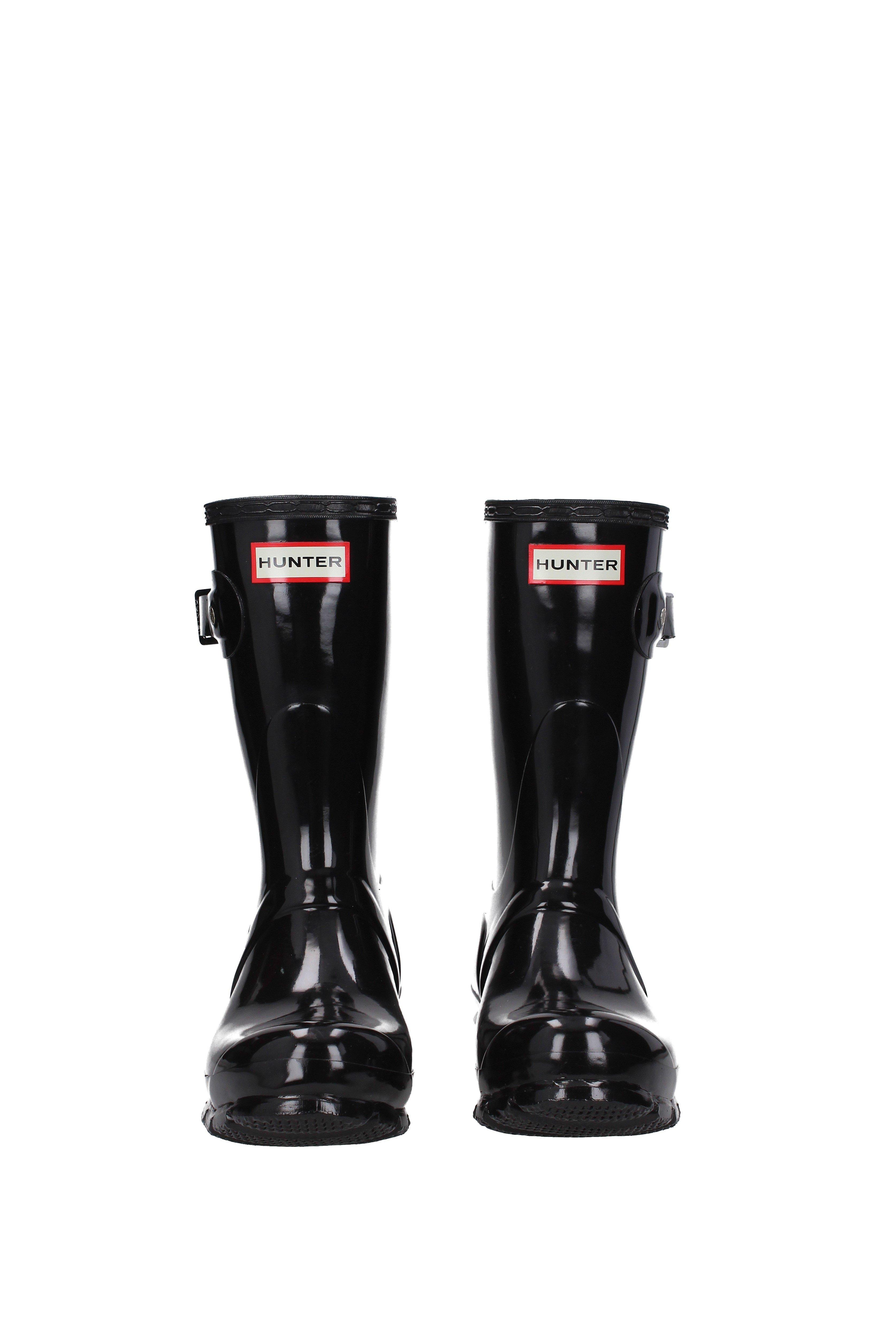 ef391946bda Lyst - HUNTER Ankle Boots Women Black in Black