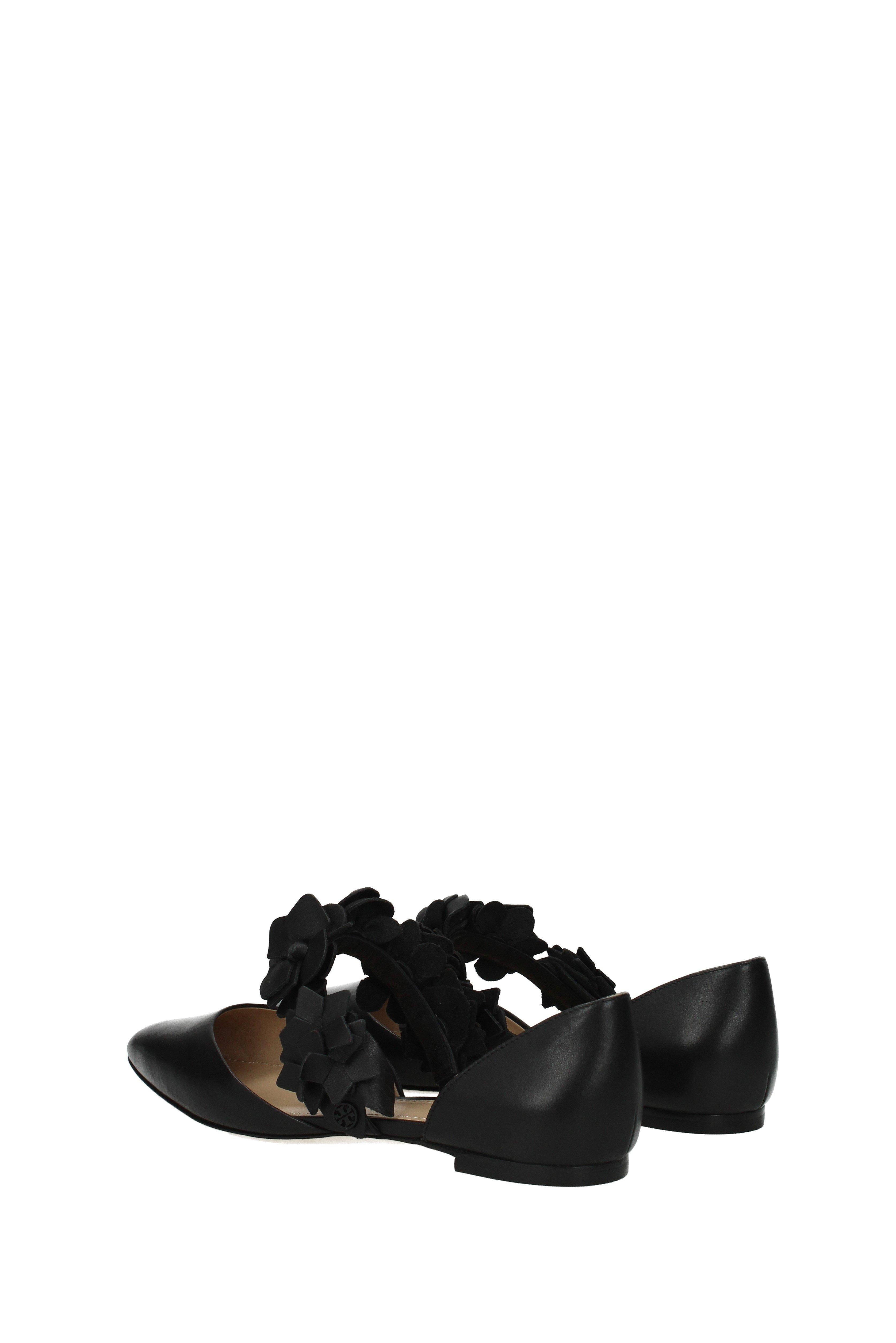 6dc021c7f Lyst - Tory Burch Sandals Blossom D orsay Women Black in Black