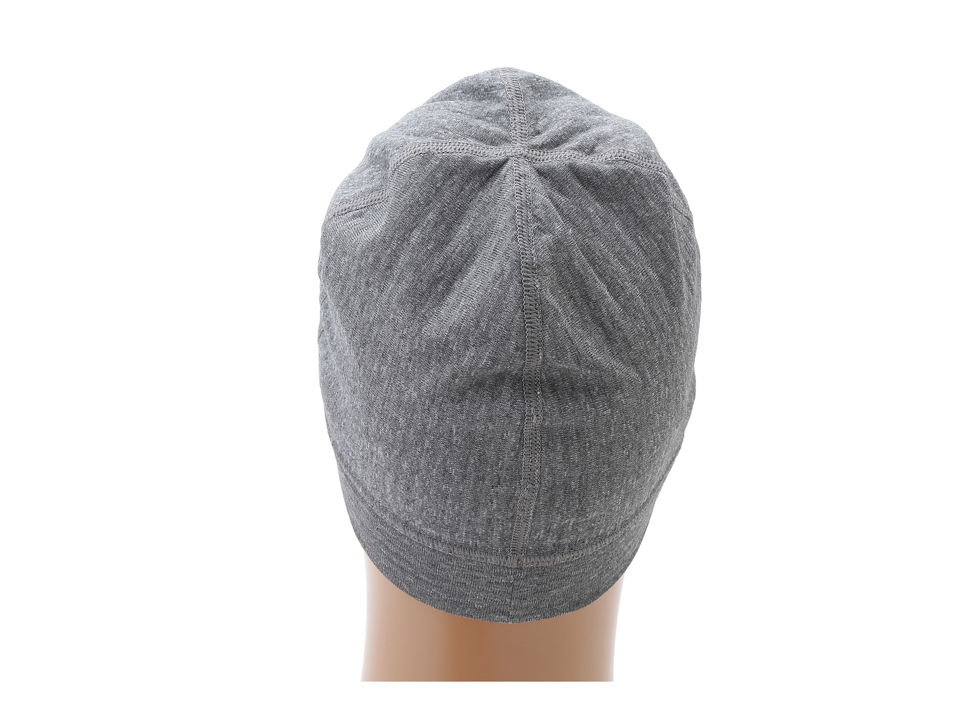 47ece860a4143 Patagonia Capilene 4 Expedition Weight Beanie in Gray - Lyst