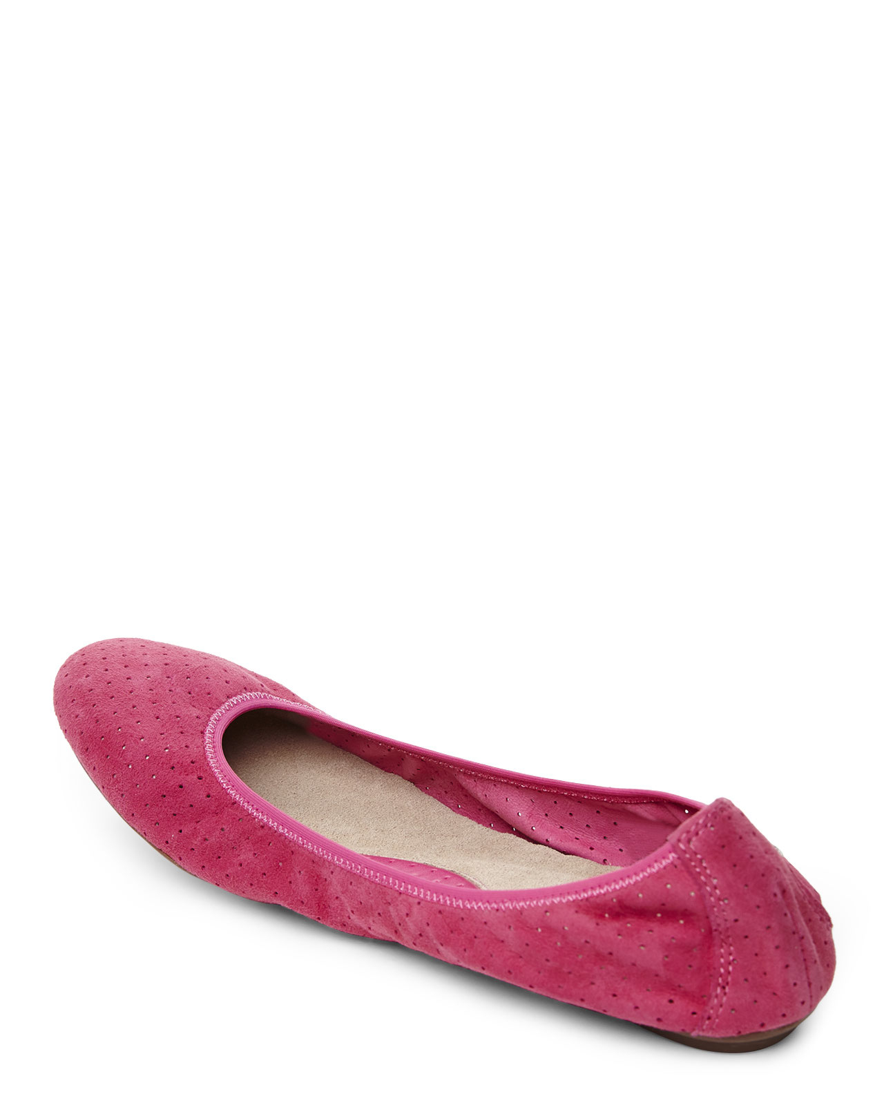 201441c8fce Lyst - Hush Puppies Pink Chaste Ballet Flat in Pink