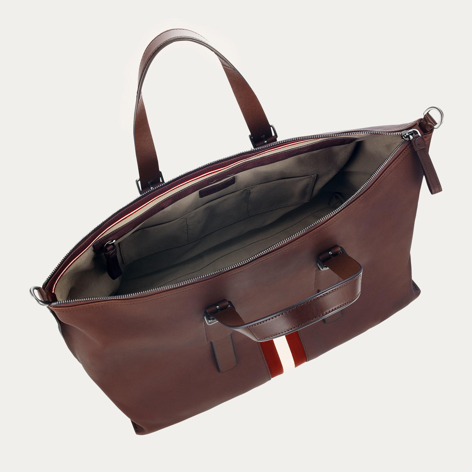 0d1e099330 Lyst - Bally Boskar Men ́s Leather Travel Bag In Chestnut in Brown ...