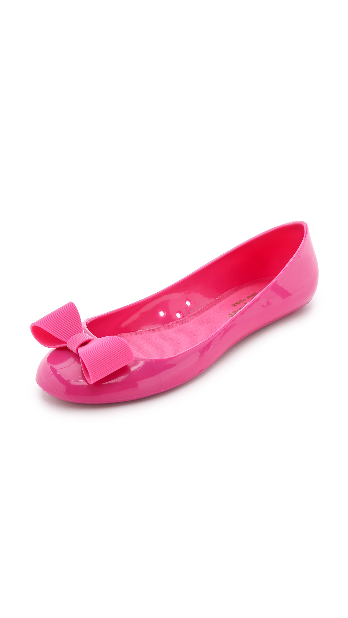c01fe4ba2a6e Lyst - Kate Spade Jove Ballet Flats - Smoke in Pink