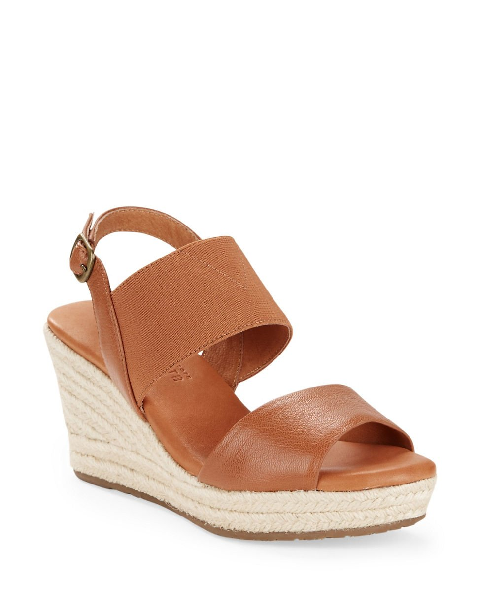 gentle souls kara leather espadrille wedge sandals in