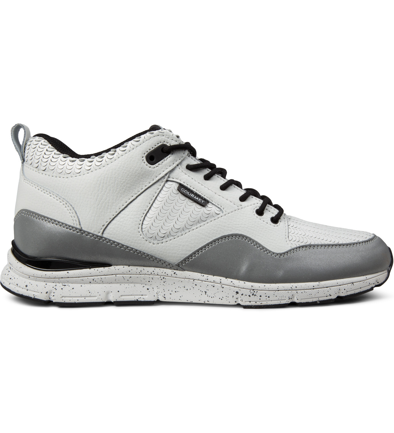 gourmet white metallic the 35 lite lx shoes in gray for