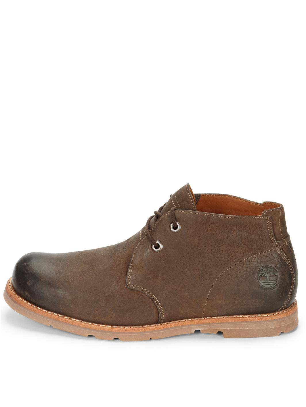 Timberland Brown Slip On Shoes Mens