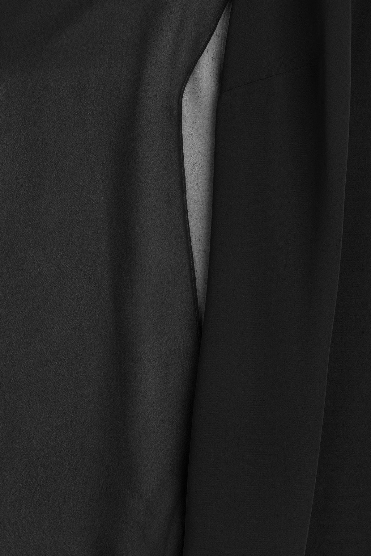 Ralph Lauren Black Silk Blouse 29