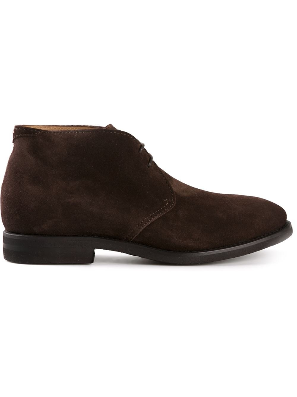 Brunello Cucinelli Chukka Boots In Brown For Men Lyst