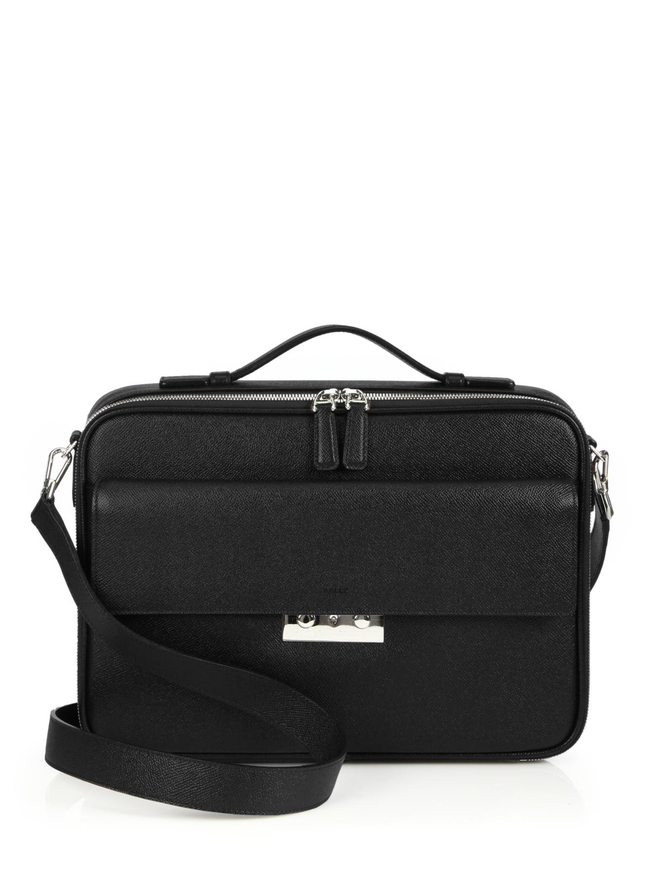Bally Classe Affaire Document Case in Black for Men  Lyst