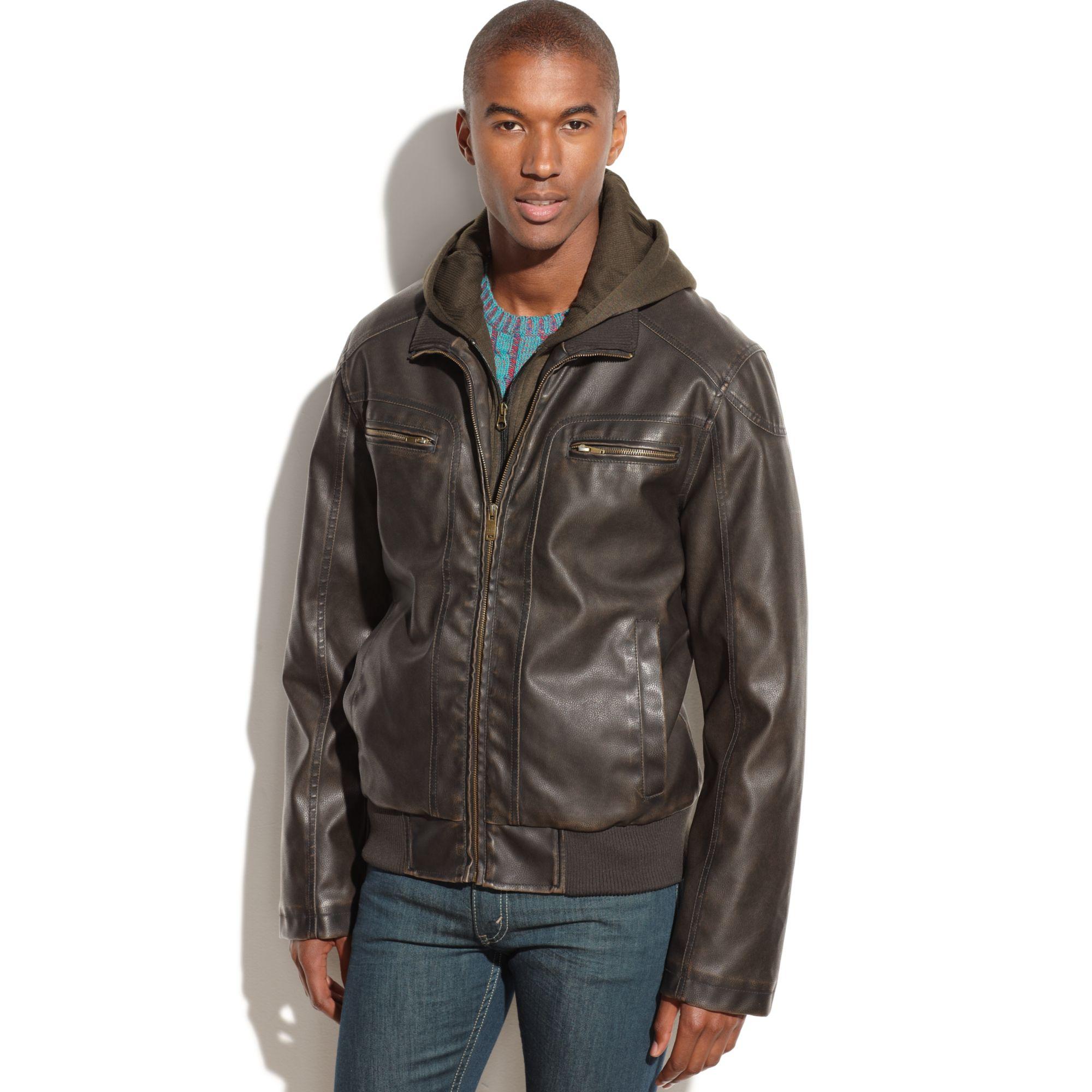 Sean john leather jackets