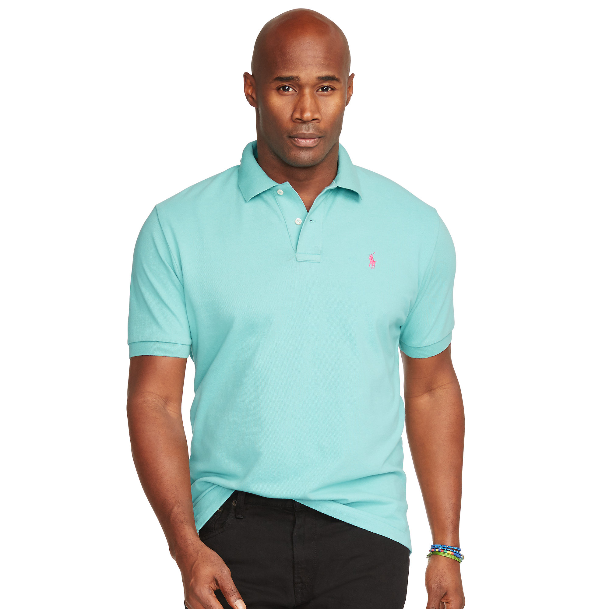 Pink Classic Shirt Fit Lyst Men In For Blue Pony Polo Mesh cF1JKlT