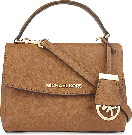 0f46bfc62d MICHAEL Michael Kors Ava Extra Small Saffiano Leather Cross Body Bag ...