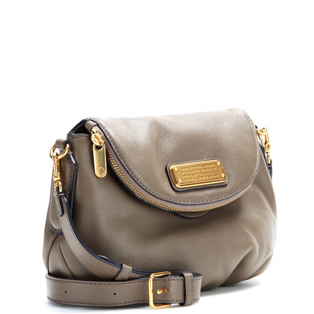 fcbc000e34b2 Lyst - Marc By Marc Jacobs Mini Natasha Leather Shoulder Bag in Brown