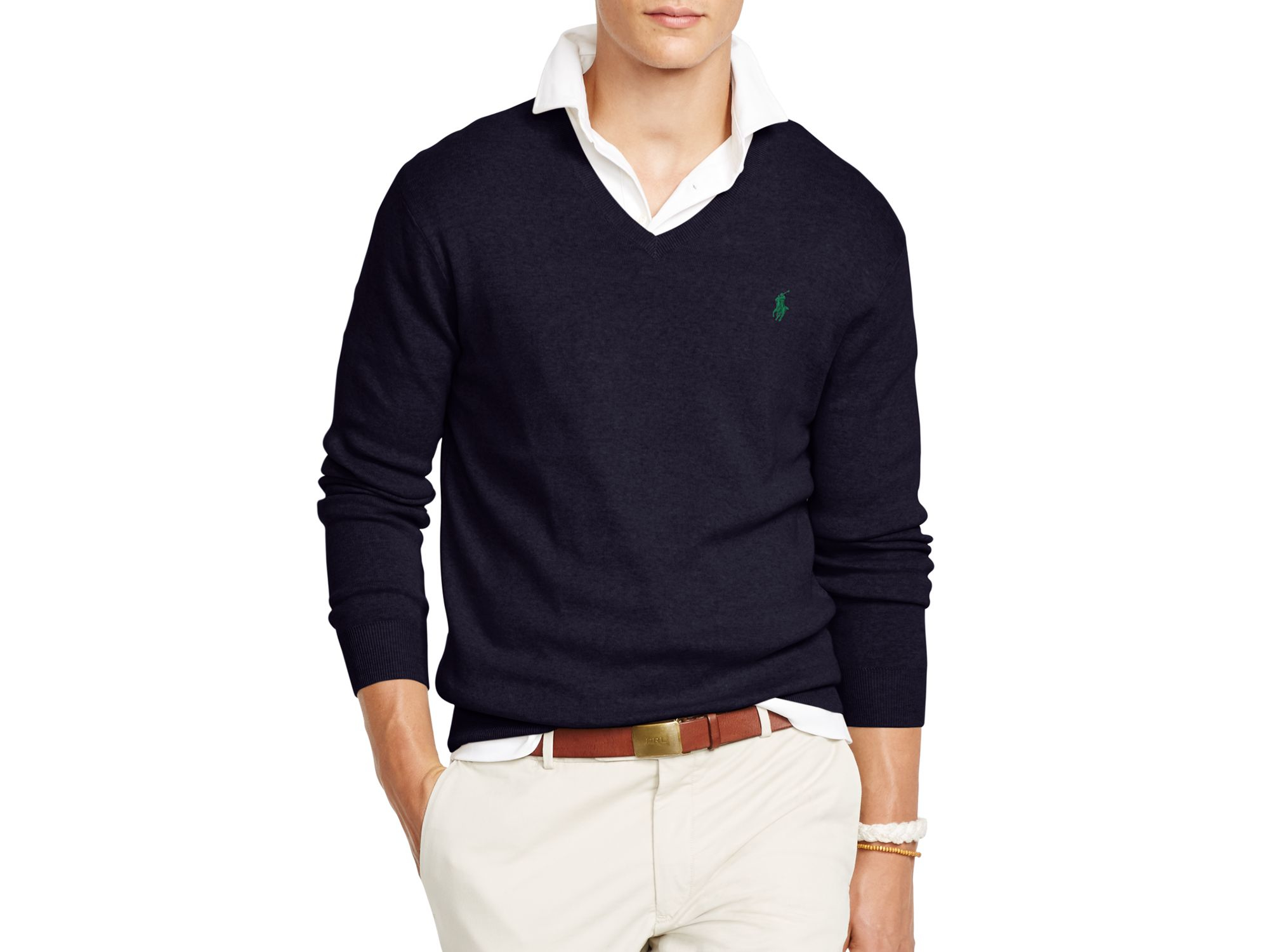 Polo Ralph Lauren | Blue Nordic-Print Sweater for Men | Lyst \u0026middot; Men