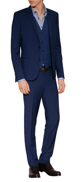 2cce60098c4 The Kooples Cotton Suit Pants in Blue for Men - Lyst