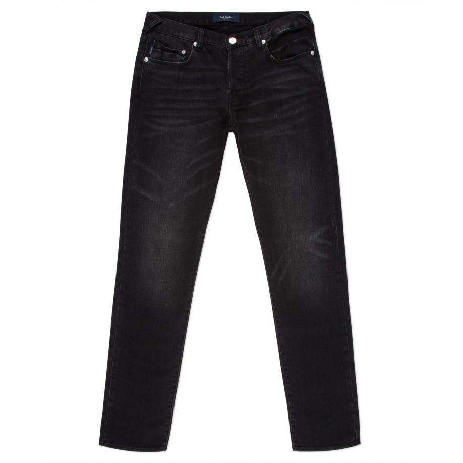 Paul Smith Men's Black Dark-wash Stretch-denim Jeans in ... - photo#36