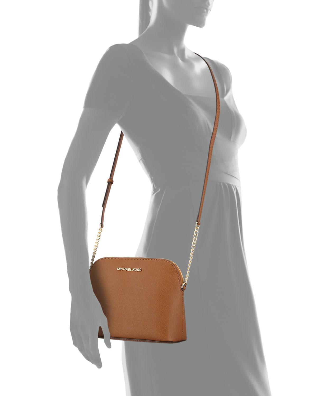 afa02e669604 Lyst - MICHAEL Michael Kors  brooklyn  Crossbody Bag in Brown