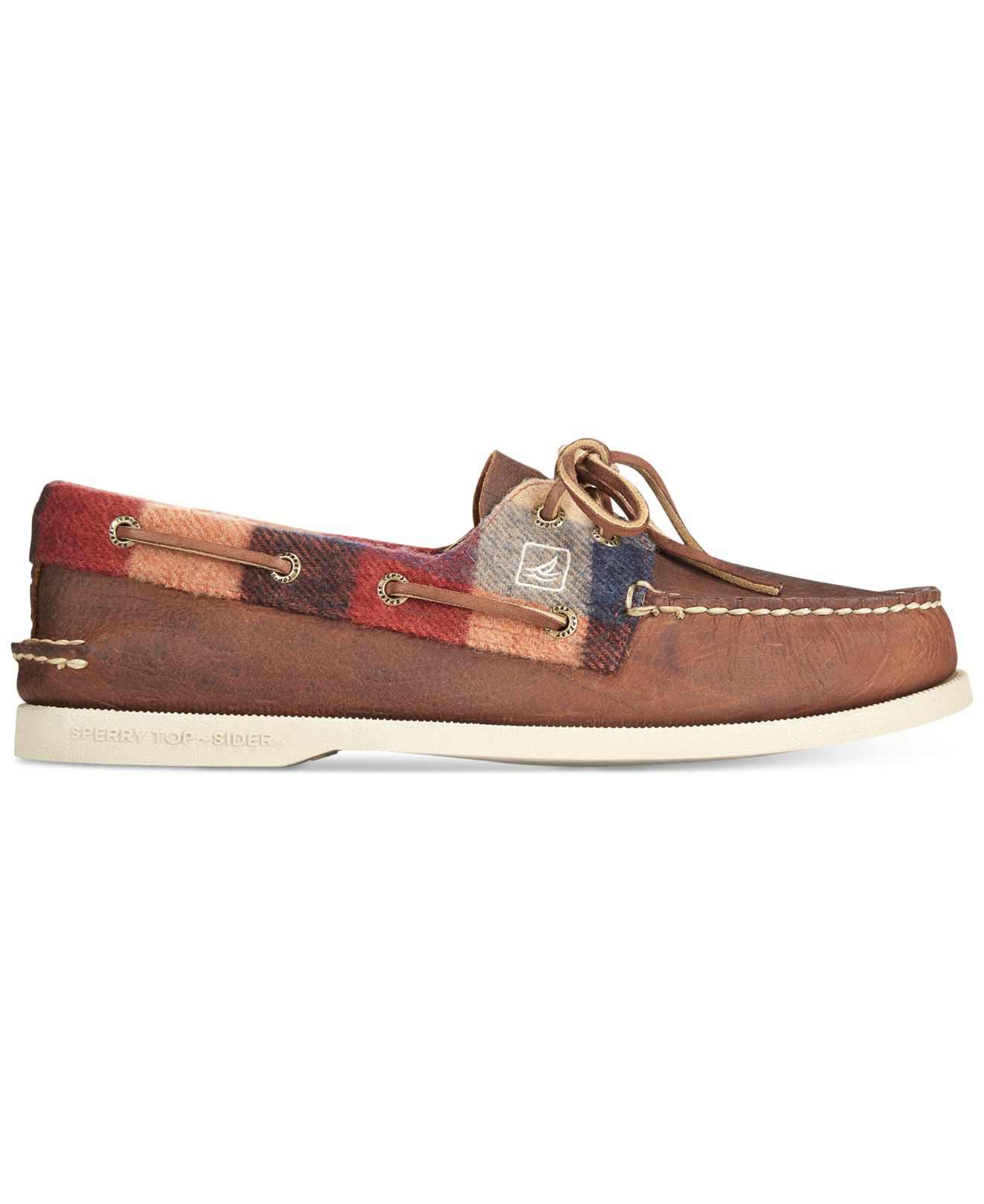 Sperry Top Sider Plaid Shoes