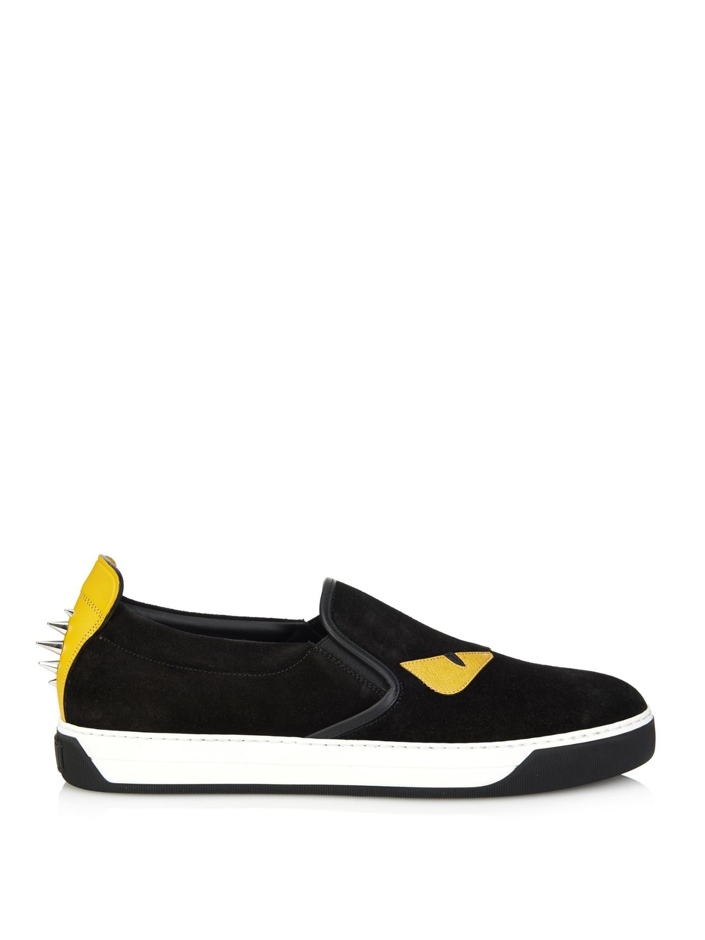 oversized tongue sneakers - Black Fendi BfFcPg
