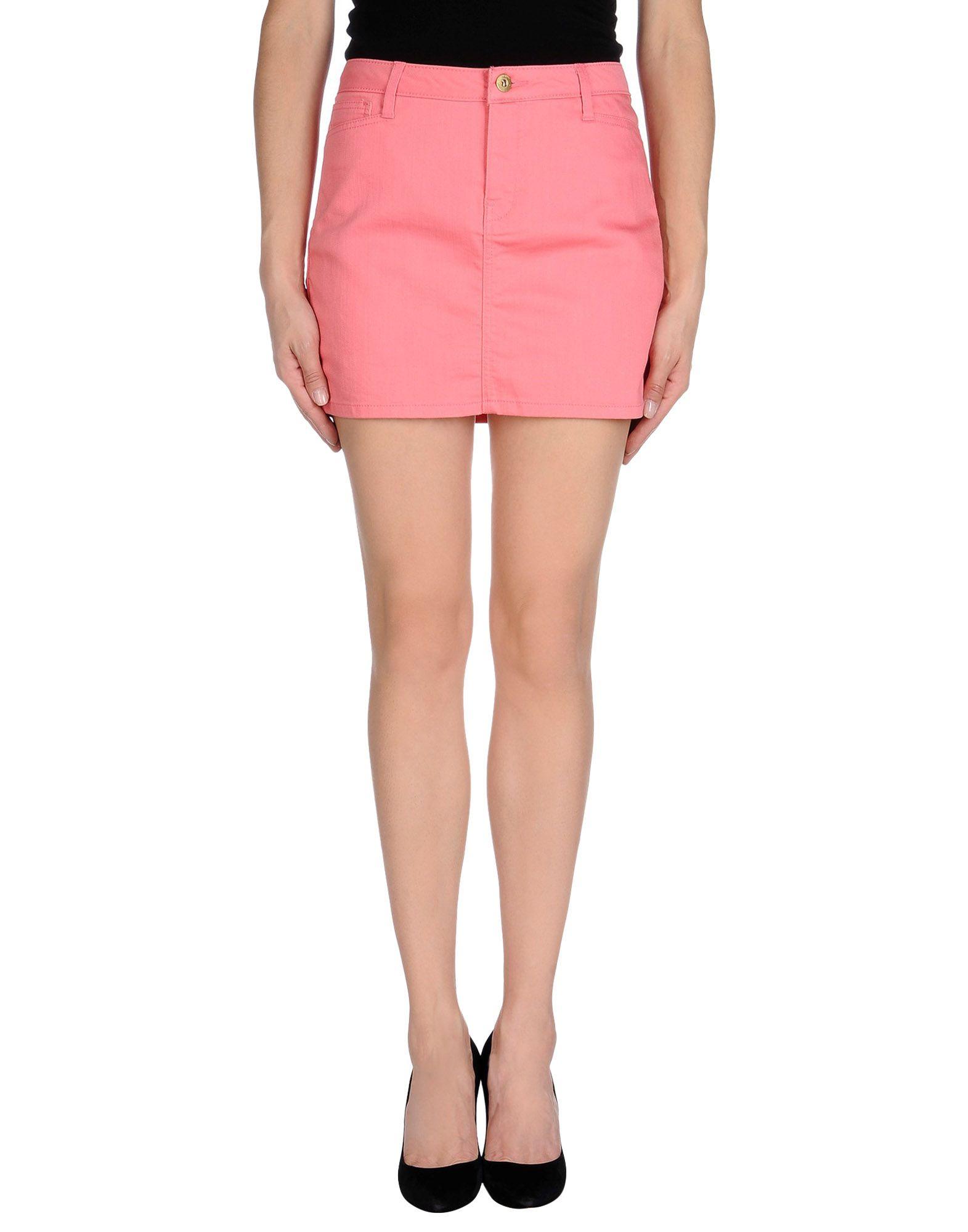 Vero moda Mini Skirt in Pink | Lyst