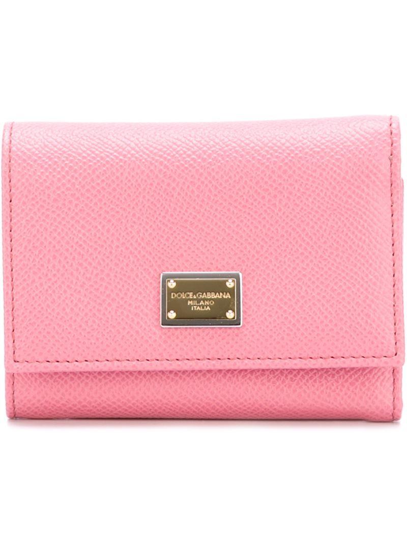 logo wallet - Pink & Purple Dolce & Gabbana 1tblLK