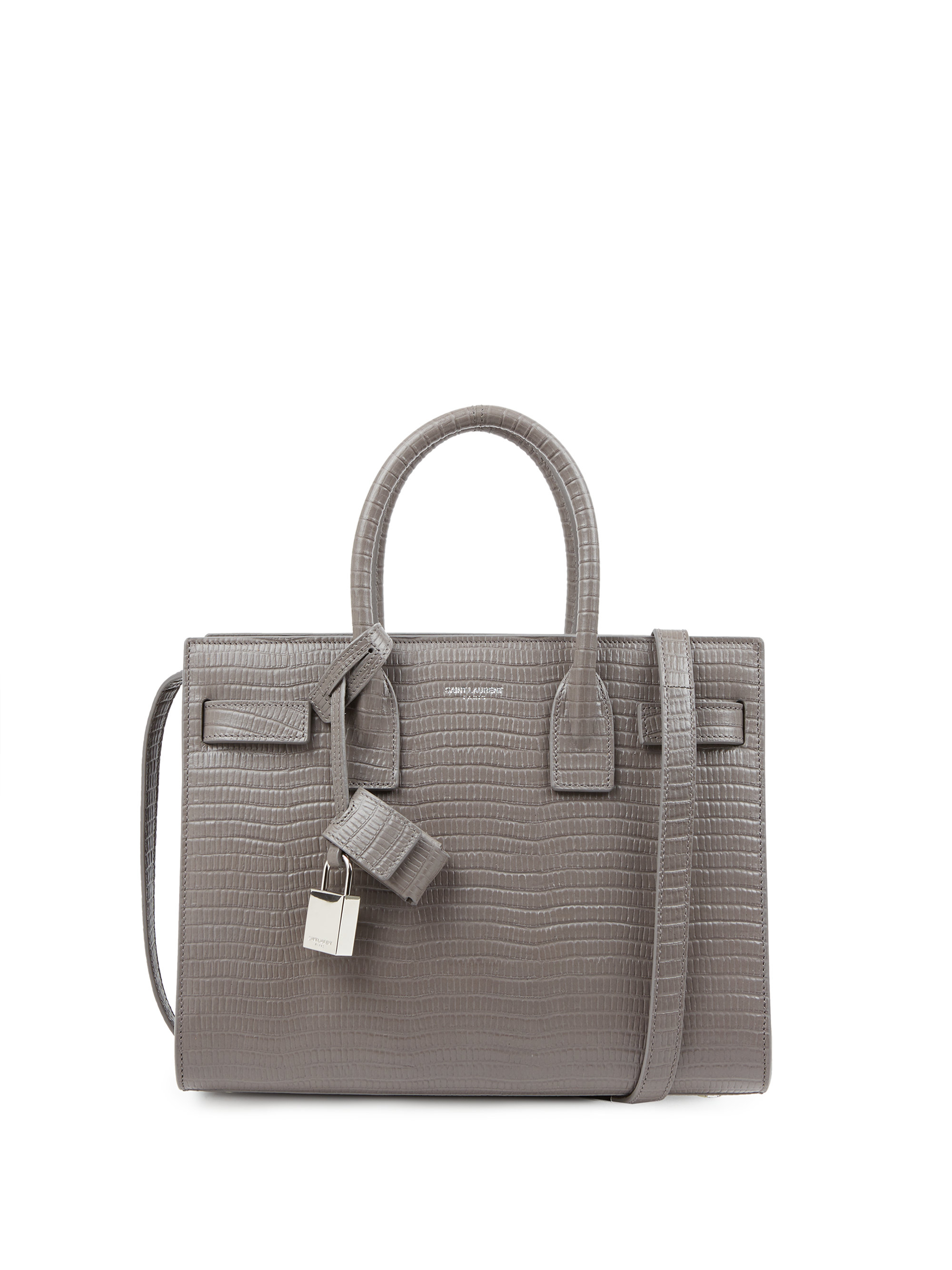 ysl replica handbag - yves saint laurent sac de jour baby croc-embossed leather tote ...
