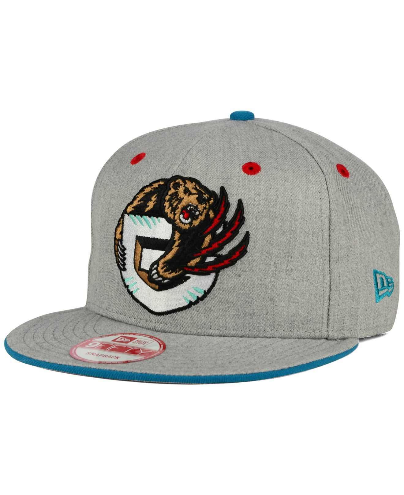 23a7805d540 Lyst - KTZ Vancouver Grizzlies Heather 9fifty Snapback Cap in Gray ...